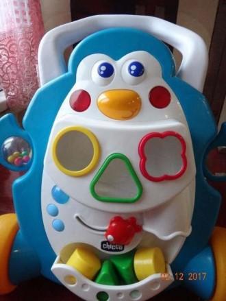 Ходунки каталка Пингвин Chicco. Шаргород. фото 1
