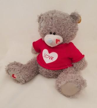 Мягкая игрушка Мишка Teddy в свитере. Монастырище. фото 1