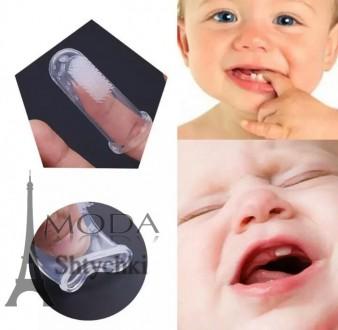 Детская зубная щетка мини - прорезыватель для зубов. Хмельницкий. фото 1