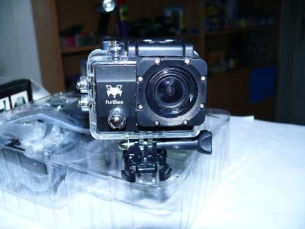 Экшен видео-камера Q6-FB 4K, с WiFi, копия GoPro.. Днепр. фото 1