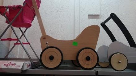 Деревянная игрушка, машинка, ходунки. Хуст. фото 1