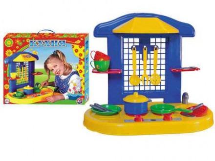 Детская игрушечная кухня для девочек.. Монастырище. фото 1