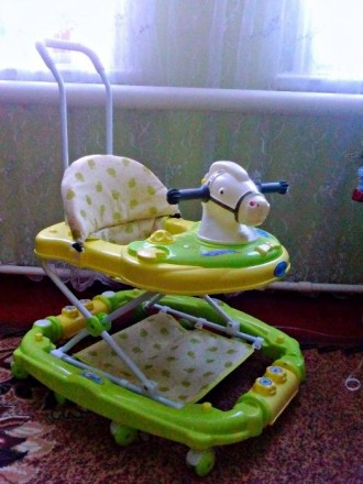 Ходунки - качалка Лошадка Baby Tilly. Шостка. фото 1