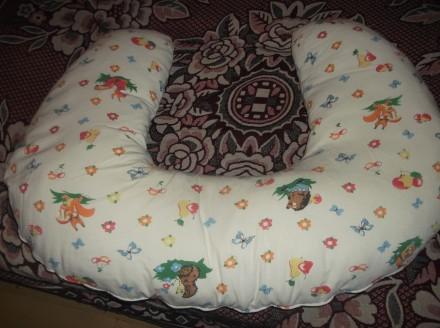 Подушка для кормления. Отличная вещь при процессе грудного вскармливания. Маме н. Кривий Ріг, Днепропетровская область. фото 3