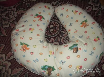 Подушка для кормления. Отличная вещь при процессе грудного вскармливания. Маме н. Кривий Ріг, Днепропетровская область. фото 1