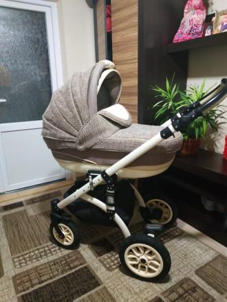 продам коляску 2 в1 в дуже гарному стані після однієї дитини. Староконстантинов. фото 1