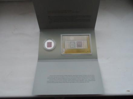 Продам буклет: 5 гривен 2018г. с 2-мя марками посвящены первым украинским почтов. Сумы, Сумская область. фото 3