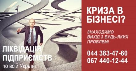 Ліквідація підприємства під ключ. Експрес ліквідація ТОВ.. Киев. фото 1