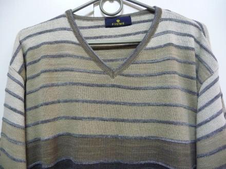 Фирменный пуловер . V образная горловинка . Отлично смотрится с рубахой . В клас. Киев, Киевская область. фото 6