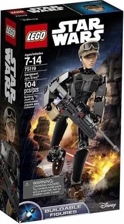 Конструктор LEGO Star Wars 75119 Сержант Джин Эрсо. Одесса. фото 1