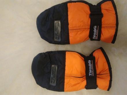 Краги, варежки, рукавицы thinsulate 11-13 лет америка. Дніпро. фото 1