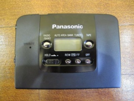 Продам касетный плеер Panasonic Stereo Radio Cassette Player RQ-SX22V. Киев. фото 1