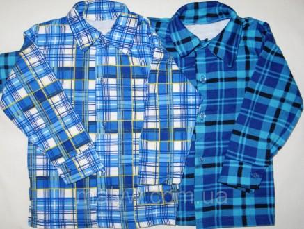 Детские рубашки с начёсом р.24. Одесса. фото 1