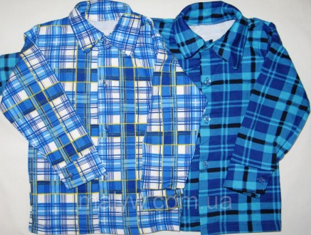 Детские рубашки с начёсом р.34. Одесса. фото 1
