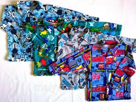 Детские рубашки с начёсом р.36. Одесса. фото 1