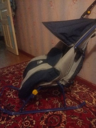 Санки-коляска Nika детям. Донецк. фото 1