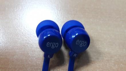 Продам новые вакуумные наушники Ergo VT-901 Blue. Киев. фото 1