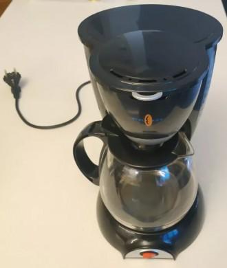 Кафеварка, кофемашина для дома до 10-12 чашек, с фильтр-пакетами. Каменское. фото 1