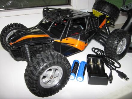 Машинка багги HBX 12815, полный привод 4X4 , масштаб 1:12 , цвет оранж, 40 км/ч. Запорожье. фото 1
