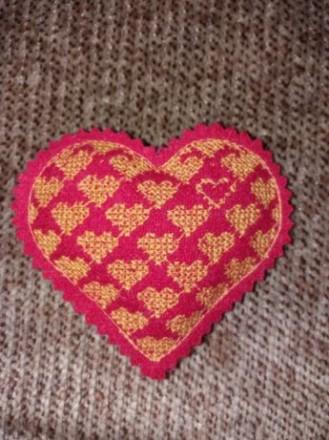 валентинка игольница сувенир  сердечко. Кривой Рог. фото 1