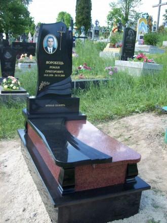 Пам'ятники з граніту від виробника. Коростышев. фото 1