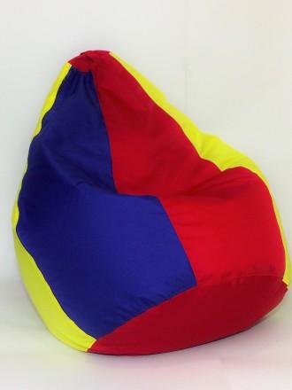 бескаркасное кресло-мешок 120/80. Орехов. фото 1