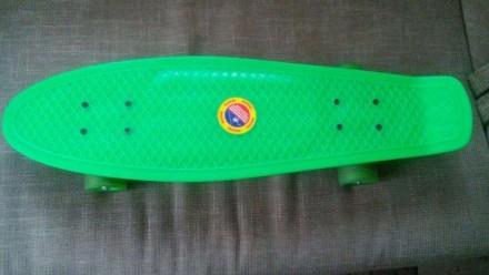 Скейт с силиконовыми колесами TILLY. Сумы. фото 1
