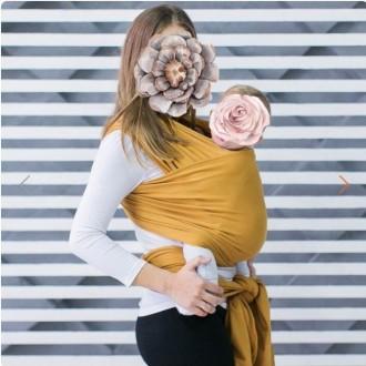 Трикотажний слінг-шарф Love&Carry. Львов. фото 1