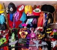 Карнавальні костюми+аксесуари з Англії оптом. Луцк. фото 1