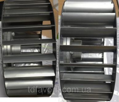 Крыльчатка для центробежного вентилятора , диаметр 250 мм, вал 24 мм  . Крыльч. Днепр, Днепропетровская область. фото 4