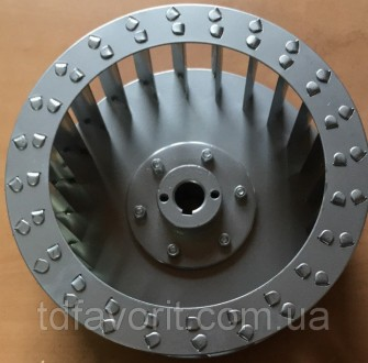 Крыльчатка для центробежного вентилятора , диаметр 250 мм, вал 24 мм  . Крыльч. Днепр, Днепропетровская область. фото 2