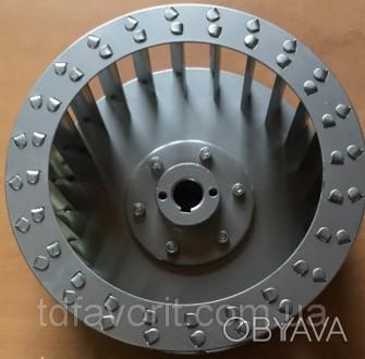 Крыльчатка для центробежного вентилятора , диаметр 250 мм, вал 24 мм  . Крыльч. Днепр, Днепропетровская область. фото 1