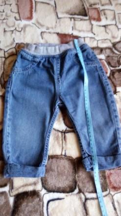 Продам джинсовые штанишки для мальчика. Вольногорск. фото 1