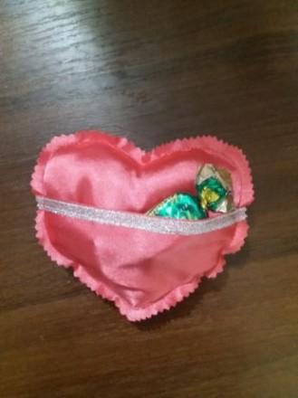 Валентинка сердечко с карманом. Кривой Рог. фото 1