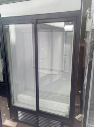 Холодильники шкафы бу, дверь разсувная, стекло. Для витринных целей - выставка . Киев, Киевская область. фото 4