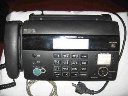 Телефон-факс (факсимильный аппарат)