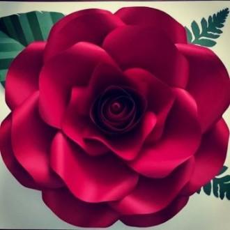 Виготовляю паперові квіти для фотозони та декору стін. Паперові квіти яскраво бу. Снятин, Ивано-Франковская область. фото 6