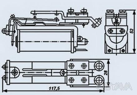 Реле РКС-3 РС4.501.200 Складское хранение, в индивидуальной коробке. Цена догово. Днепр, Днепропетровская область. фото 1