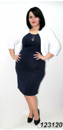 нове плаття 56 розміру, матеріал трикотаж-отто. плаття безрукавка + накидка. Чернигов, Черниговская область. фото 1