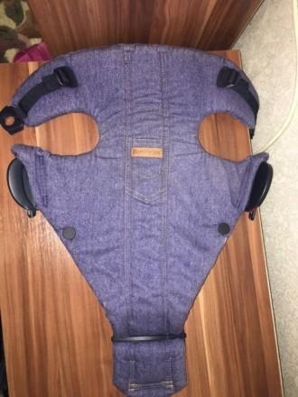 Рюкзак- Кенгуру BabyBjorn джинсовый. Кривой Рог. фото 1