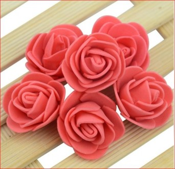 Роза из фоамирана. Днепр. фото 1