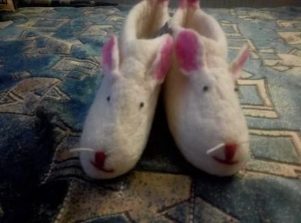 Тапочки-мышки. Одесса. фото 1