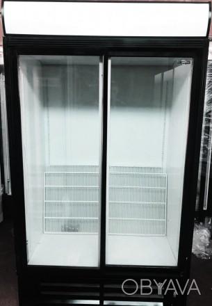 Холодильный шкаф - витрина б/у. Компактность, объем и качественная сборка. Раз. Киев, Киевская область. фото 1