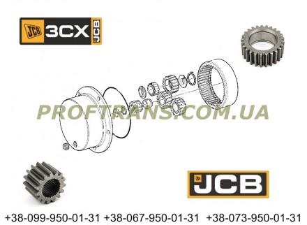 450/12403 бортовая шестерня JCB CX3 450/10206, 454/07401. Львов. фото 1