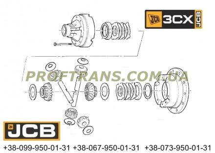 450/20600 шестерня дифференциала JCB CX3. Львов. фото 1