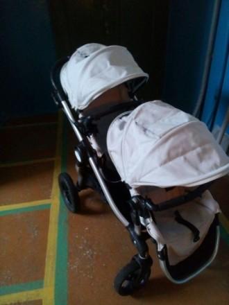 Коляска для двойни и погодок baby jogger. Мариуполь. фото 1