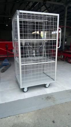 Многоцелевая тележка - контейнер. Полтава. фото 1