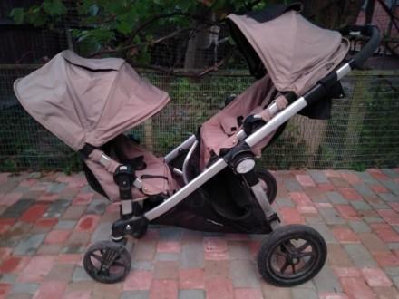 Baby jogger city select коляска для двойни. Чернигов. фото 1