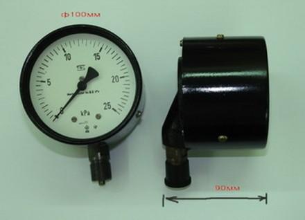 Манометры виброустойчивые марки TGL (0-25 кРа). Днепр. фото 1