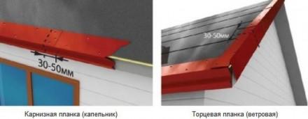 Размеры стандартные ветровой планки 100 на 100 мм, длина 1,25м, 2 м, 2.5 метра ,. Киев, Киевская область. фото 4